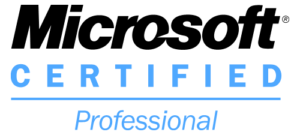Microsoft Certified Professional Certification