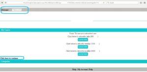Case Study Penetration test screenshot