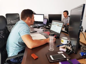 Penetration Testers at work office Cyber Threat Defense