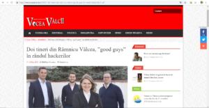 Cyber Threat Defense at Vocea Valcii newspaper