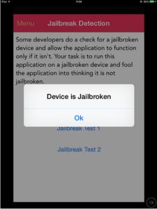 ios pentest jailbroken device