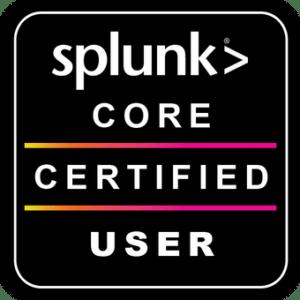 Splunk - Core Certified User
