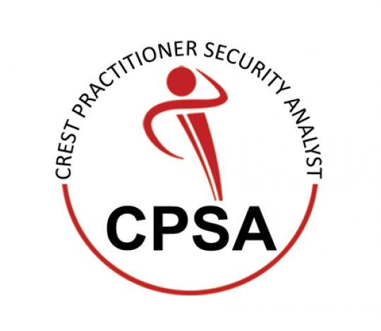 CREST CPSA certification