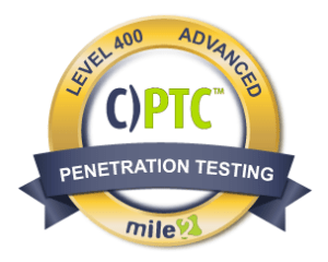 Certified Penetration Testing Consultant (CPTC)